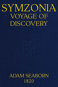 Cover of Symzonia: Voyage of Discovery