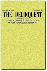 Cover of The Delinquent (Vol. IV, No. 1), January, 1914