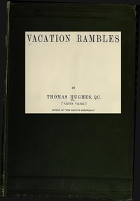 Cover of Vacation Rambles