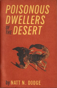 Cover of Poisonous Dwellers of the Desert