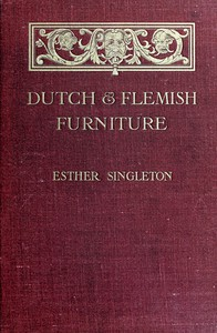 Cover of Dutch and Flemish Furniture