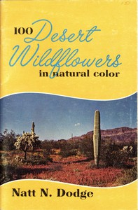 Cover of 100 Desert Wildflowers in Natural Color