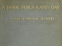Cover of A Book for a Rainy Day; or, Recollections of the Events of the Years 1766-1833