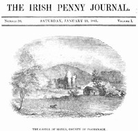 Cover of The Irish Penny Journal, Vol. 1 No. 30, January 23, 1841