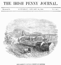 Cover of The Irish Penny Journal, Vol. 1 No. 31, January 30, 1841
