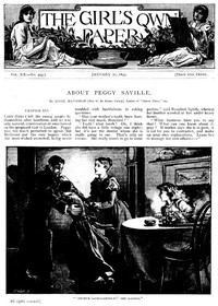 Cover of The Girl's Own Paper, Vol. XX, No. 995, January 21, 1899