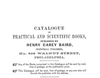 Cover of Catalogue of Practical and Scientific Books