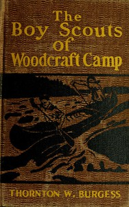 Cover of The Boy Scouts of Woodcraft Camp