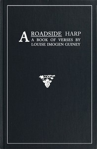 Cover of A Roadside Harp: A Book of Verses