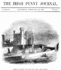 Cover of The Irish Penny Journal, Vol. 1 No. 34, February 20, 1841