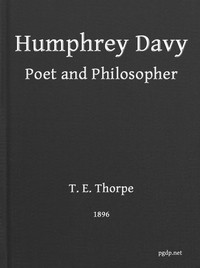 Humphry Davy, Poet and Philosopher