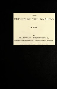 Cover of The Return of the O'Mahony: A Novel