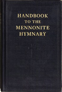 Cover of Handbook to the Mennonite Hymnary
