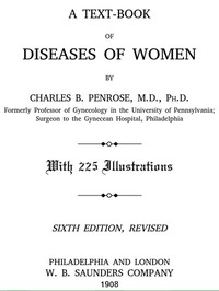 Cover of A Text-book of Diseases of Women