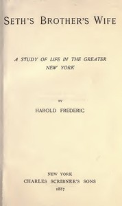 Cover of Seth's Brother's Wife: A Study of Life in the Greater New York