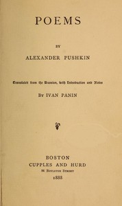 Cover of PoemsWith Introduction and Notes