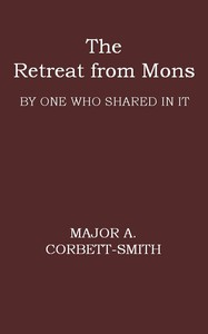 Cover of The Retreat from Mons By one who shared in it
