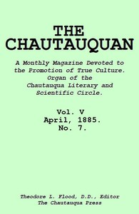 Cover of The Chautauquan, Vol. 05, April 1885