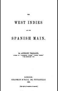 Cover of The West Indies and the Spanish Main