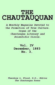 Cover of The Chautauquan, Vol. 04, December 1883