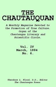 Cover of The Chautauquan, Vol. 04, March 1884, No. 6