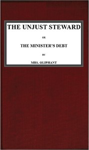 Cover of The Unjust Steward; or, The Minister's Debt