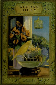 Cover of Golden Dicky, The Story of a Canary and His Friends