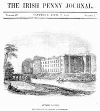 Cover of The Irish Penny Journal, Vol. 1 No. 42, April 17, 1841