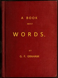 Cover of A Book About Words