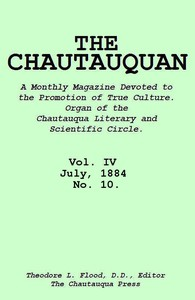 Cover of The Chautauquan, Vol. 04, July 1884, No. 10