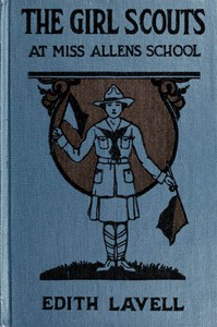Cover of The Girl Scouts at Miss Allen's School
