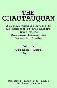 Cover of The Chautauquan, Vol. 05, October 1884, No. 1