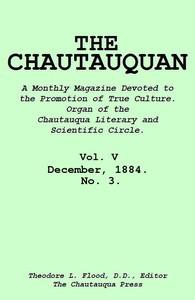 Cover of The Chautauquan, Vol. 05, December 1884, No. 3