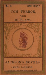 Cover of Tom Terror, the Outlaw