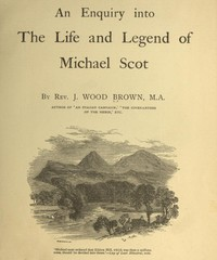 Cover of An Enquiry into the Life and Legend of Michael Scot