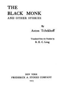 Cover of The Black Monk, and Other Stories