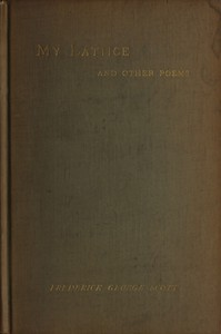 My Lattice, and Other Poems
