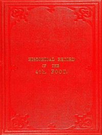 Cover of Historical Record of the Fourth, or the King's Own, Regiment of Foot Containing an Account of the Formation of the Regiment in 1680, and of Its Subsequent Services to 1839