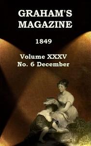 Cover of Graham's Magazine, Vol. XXXV, No. 6, December 1849
