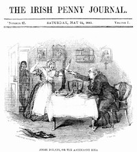 Cover of The Irish Penny Journal, Vol. 1 No. 47, May 22, 1841