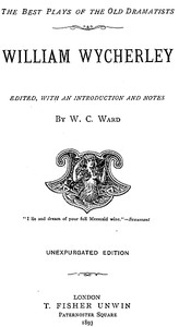 Cover of William Wycherley [Four Plays]