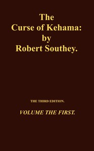 Cover of The Curse of Kehama, Volume 1 (of 2)