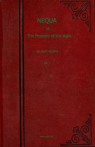 Cover of Nequa; or, The Problem of the Ages