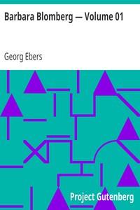 Cover of Barbara Blomberg — Volume 01