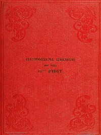 Cover of Historical Record of the Sixth, or Royal First Warwickshire Regiment of Foot Containing an Account of the Formation of the Regiment in the Year 1674, and of Its Subsequent Services to 1838