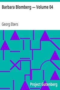 Cover of Barbara Blomberg — Volume 04