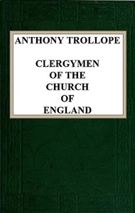 Cover of Clergymen of the Church of England