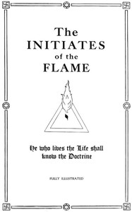 Cover of The Initiates of the Flame