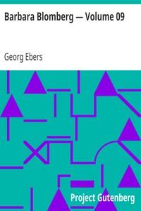 Cover of Barbara Blomberg — Volume 09