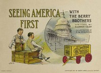 Cover of Seeing America First, with the Berry Brothers